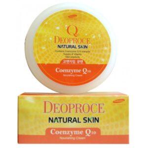 Питательный крем на основе коэнзима Q10 Natural Skin Coenzyme Q10 Nourishing Cream Deoproce  BeautyBox.uz - Интернет-магазин косметики в Ташкенте