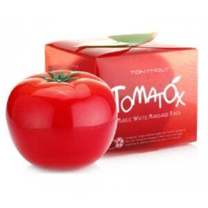 Маска для лица осветляющая массажная Tomatox Tony Moly