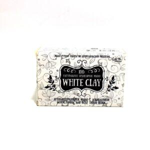 Мыло натуральное с добавлением белой глины White Clay Красота Плюс. BeautyBox.uz интернет-магазин косметики. Ташкент. Узбекистан