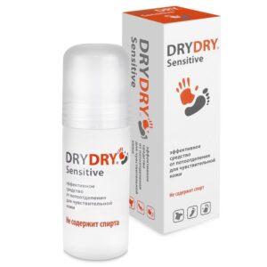 Средство от обильного потовыделения для чувствительной кожи Dry Dry Sensitive. BeautyBox.uz. Интернет-магазин косметики. Ташкент. Узбекистан