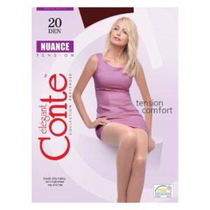Колготки женские классические Nero Nuance 20 Conte Elegant
