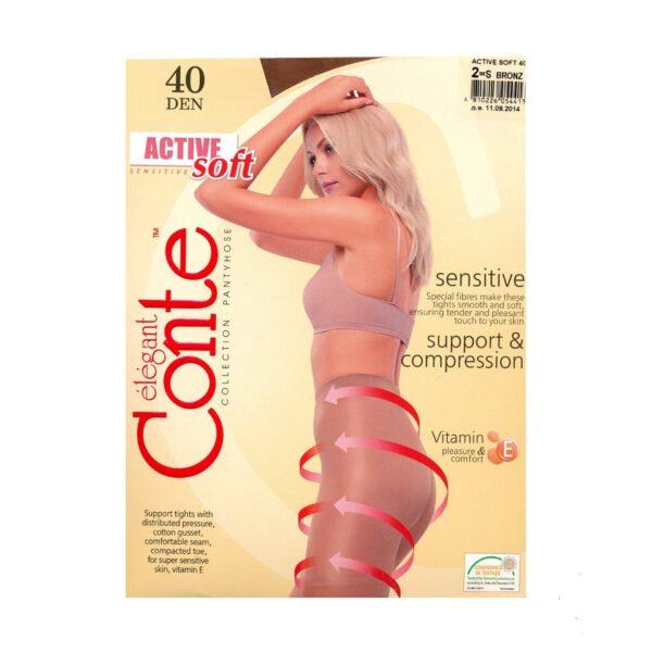 Колготки женские Active Soft 40 Conte Elegant
