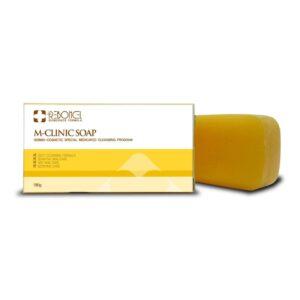Мыло лечебное противогрибковое M-Clinic Soap Rebonel. Интернет-магазин косметики Beautybox.uz. Ташкент. Узбекистан