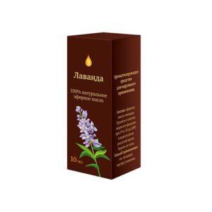 Масло эфирное «Лаванда» натуральное «Аптечный союз»