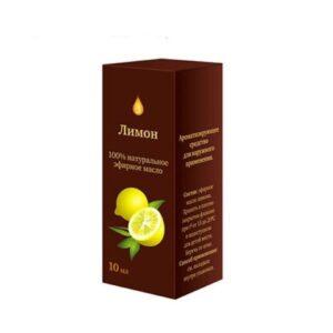 Масло эфирное «Лимон» натуральное «Аптечный союз»