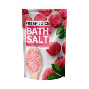Соль для ванн морская питательная Litchi & Rambutan Fresh Juice
