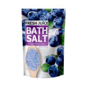 Соль для ванн морская питательная Blueberry & Black Cherry Fresh Juice