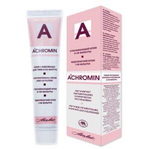 Крем для лица отбеливающий регулирующий пигментацию Achromin