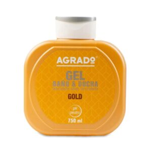 Гель для душа увлажняющий «Золото» Bath Gel Gold Agrado