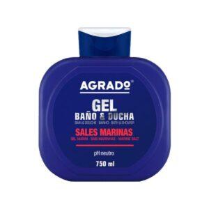 Гель для душа увлажняющий «Морская соль» Bath Gel Sales Marina Agrado