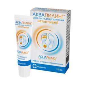 Крем-паста для ног против мозолей и натоптышей Aquapiling