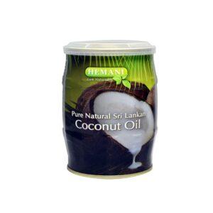 Масло кокосовое натуральное нерафинированное Coconut Oil Hemani