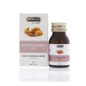 Масло косметическое «Горький миндаль» Bitter Almond Oil Hemani