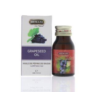 Масло косметическое «Виноградные косточки» Grape Seed Oil Hemani