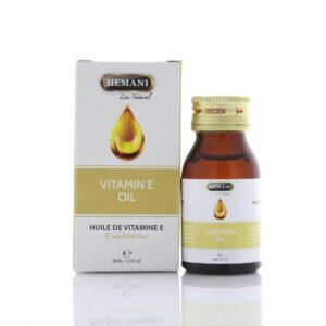 Масло косметическое натуральное «Витамин E» Vitamin E Oil Hemani