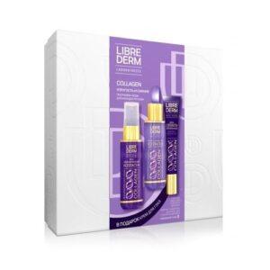 Бьюти-набор для ухода за лицом «Упругость и Сияние» Collagen Librederm