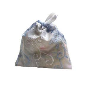 Мешочек для подарков текстильный рисунок «Вышивка» mini