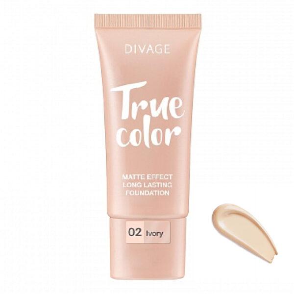 Крем для лица тональный №02 Ivory True Color Divage