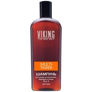 Шампунь для волос и бороды тонизирующий Multi-Tasker Viking