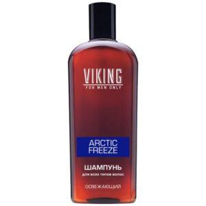 Шампунь для волос мужской освежающий Arctic Freeze Viking
