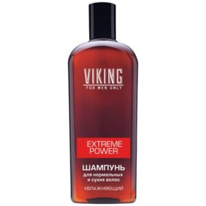 Шампунь для волос мужской увлажняющий Extreme Power Viking