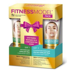 Бьюти-набор для ухода за лицом «Программа молодости и совершенства кожи» Fitness Model Fitoкосметик