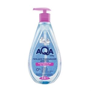 Гель для подмывания девочек AQA Baby / 250 мл