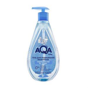 Гель для подмывания мальчиков AQA Baby / 250 мл