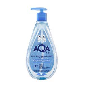 Гель для подмывания малыша AQA Baby / 250 мл