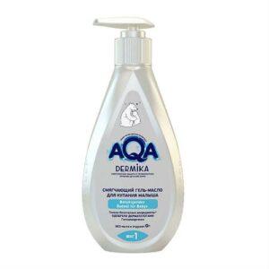 Гель-масло для купания детский смягчающий AQA Dermika