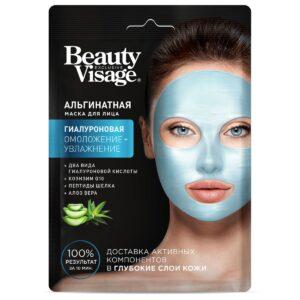 Маска для лица альгинатная «Гиалуроновая» Beauty Visage Fitoкосметик