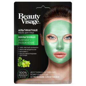 Маска для лица альгинатная «Коллагеновая» Beauty Visage Fitoкосметик