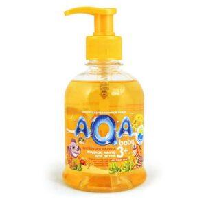 Мыло жидкое детское «Янтарная лагуна» AQA Baby