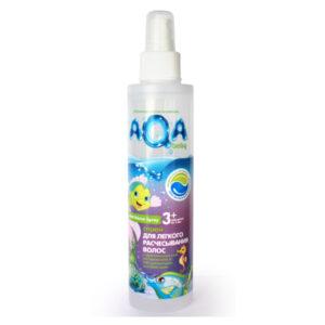 Спрей для волос облегчающий расчёсывание Kids AQA Baby