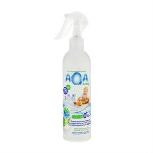 Спрей для поверхностей антибактериальный AQA Baby