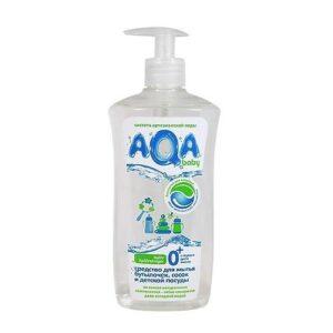 Средство для мытья бутылочек сосок и детской посуды AQA Baby