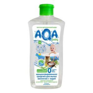 Средство для мытья ванночек с содой концентрированное AQA Baby