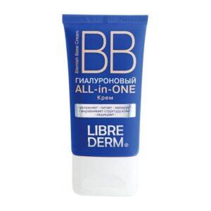 BB крем для лица увлажняющий гиалуроновый Hyaluronic Librederm