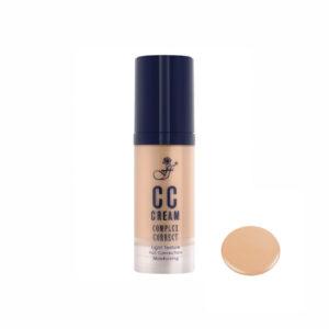 CC крем для лица увлажняющий тон №02 «Бежевый» Complex Correct CC Cream FFleur