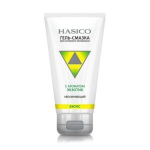 Гель-смазка увлажняющая с ароматом тропических фруктов Hasico / 50 мл