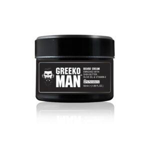 Крем для роста и укладки бороды и усов Greeko Man