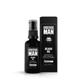 Масло для бороды и усов питательное Greeko Man