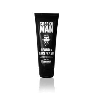 Пенка для лица и бороды Beard & Face Wash Greeko Man