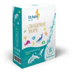 Соль для ванн морская с экстрактом череды «Любимое море» Dr. Aqua