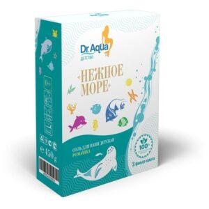 Соль для ванн морская с экстрактом ромашки «Нежное море» Dr. Aqua