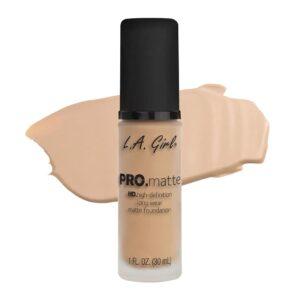 Крем для лица тональный матирующий PRO.Matte Foundation тон Nude L.A. Girl
