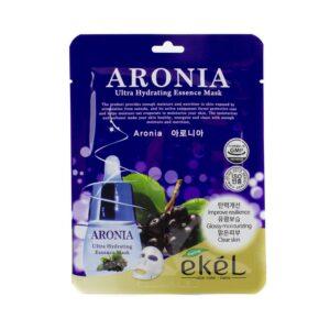 Маска для лица тканевая Aronia Ultra Hydrating Essence Mask Ekel