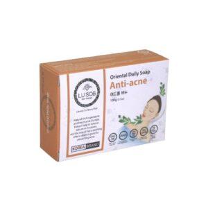 Мыло для лица против акне натуральное Anti-acne Soap Lu'Sob