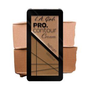 Палетка для контуринга кремовая оттенок Highlight/Contour Contour Cream Pro L.A. Girl