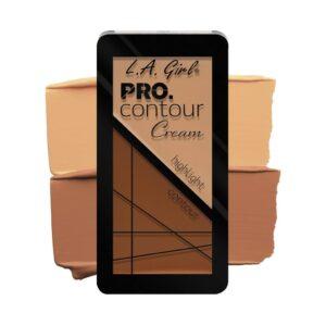Палетка для контуринга кремовая оттенок Light Contour Cream Pro L.A. Girl